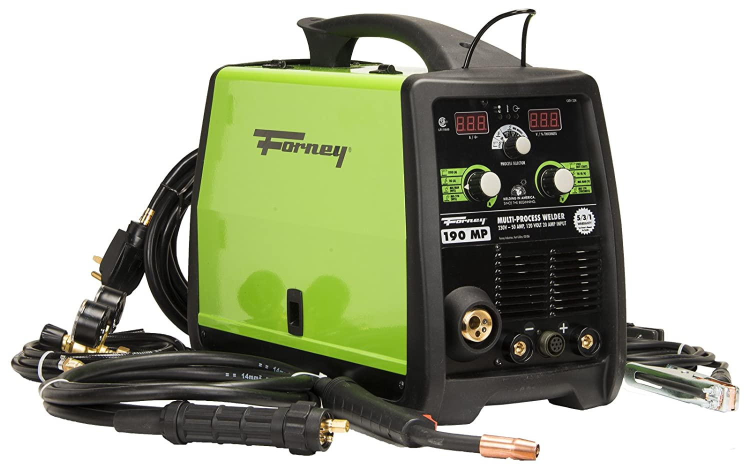 Forney 324 190 Amp Mig Stick Tig Multi Process Welder 120 230 Volt 4 Best Images Of 220 Wiring Diagram 3 Wire 240 Range