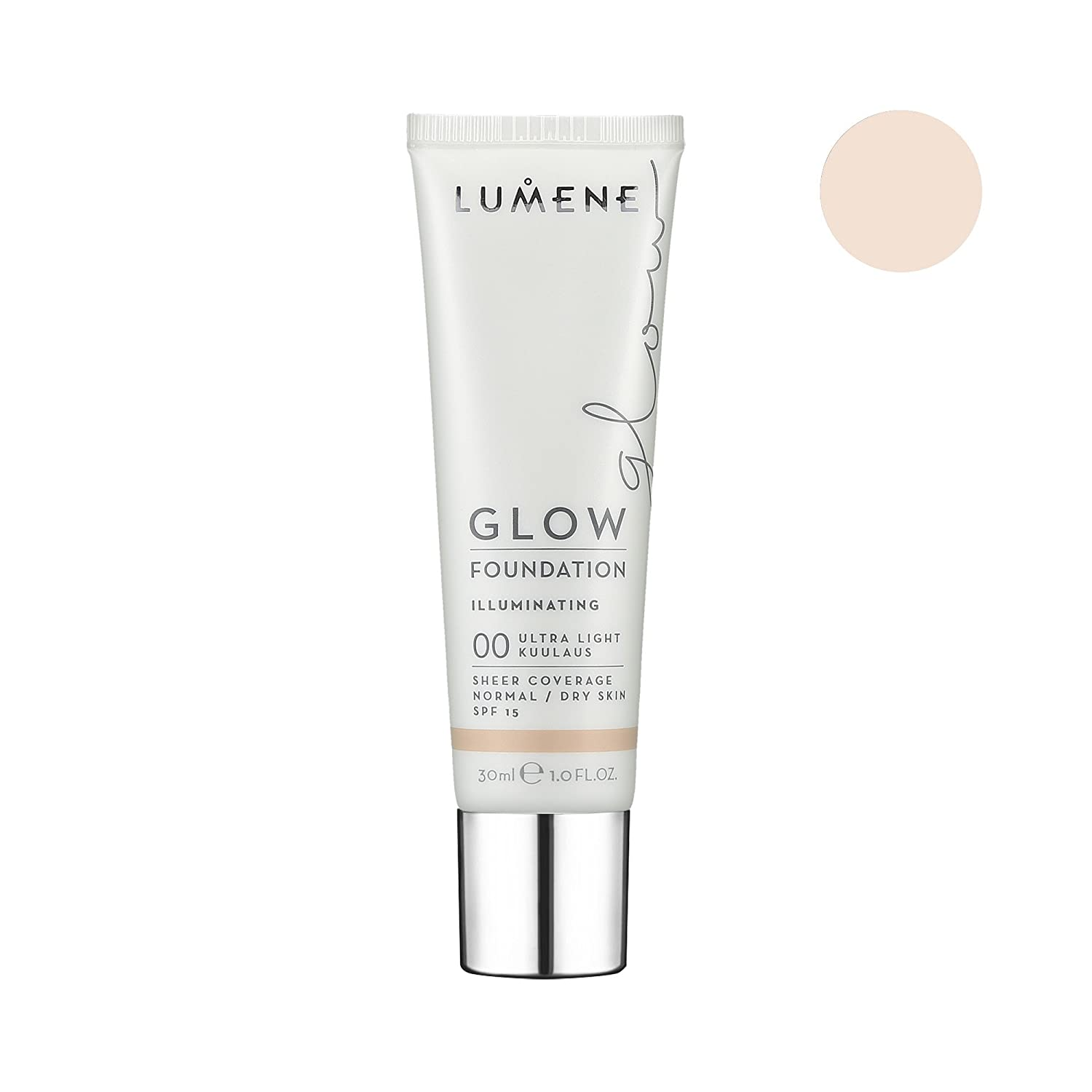 LUMENE GLOW FOUNDATION 00 ULTRA LIGHT 30ML