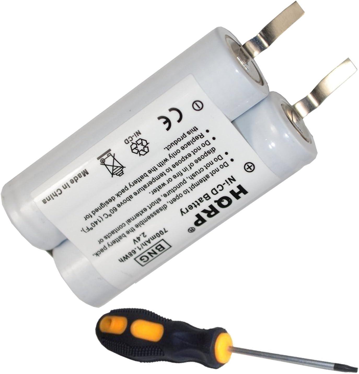 HQRP batería para Philips Norelco 8865 X L, 8867 X L, 8883 X L ...