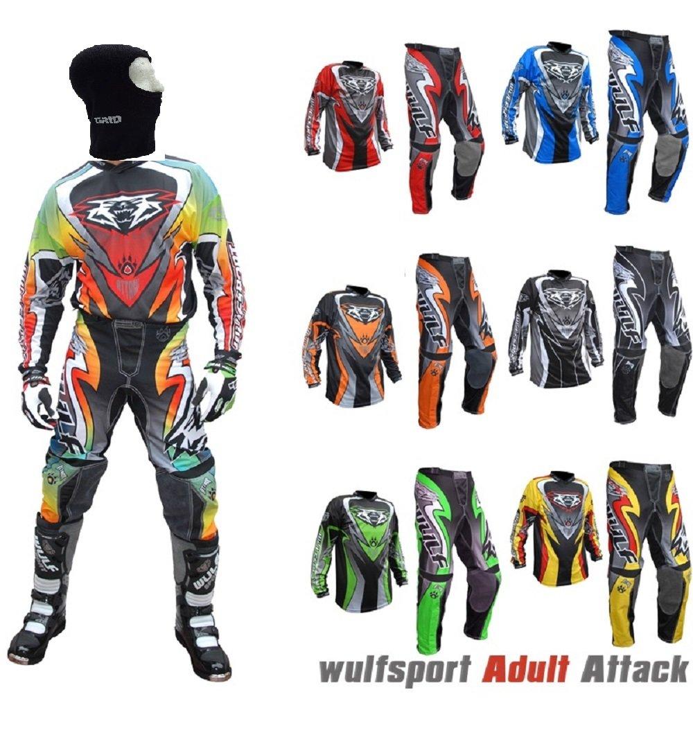 Wulfsport Traje de motocross para adulto, modelo de 2017 ...