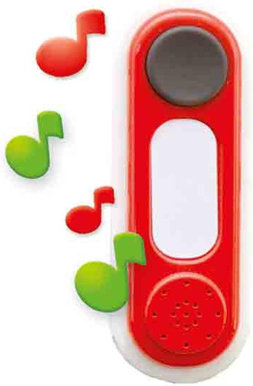 Smoby- Spielhaus Doorbell Timbre electrónico Casitas (810900)
