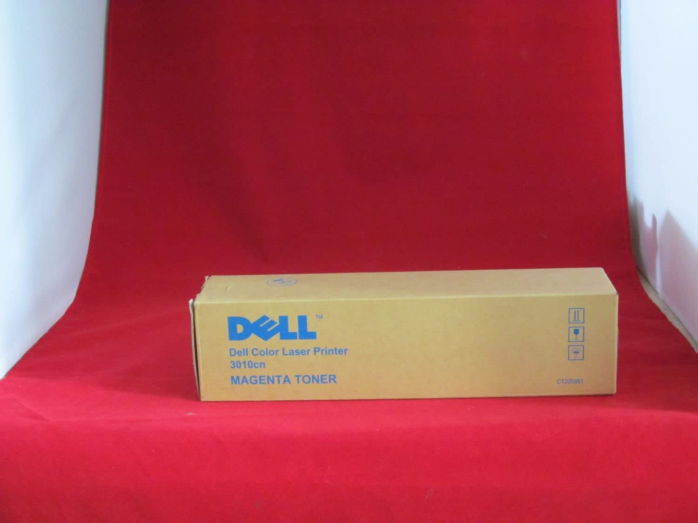 Dell 3010CN Magenta Toner (2000 Yield) (Orginal OEM# 341-3570) - Geniune Orginal OEM Toner