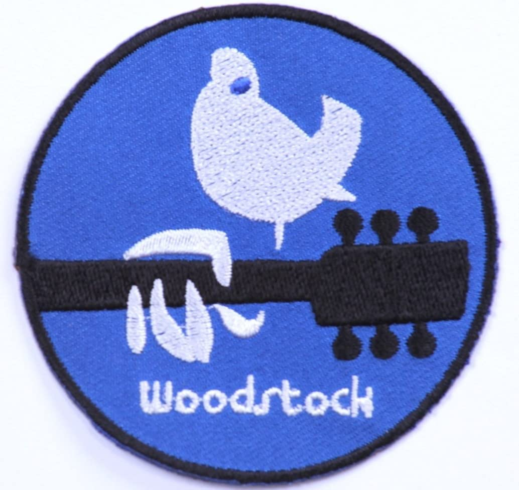 WOODSTOCK ECUSSON PATCHES AUFNAHER TOPPA THERMOCOLLANT