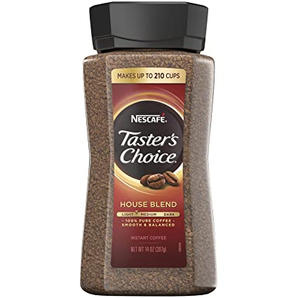 Nescafe Tasters Choice Signature House Blend Instant Coffee ...