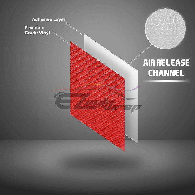 3D Carbon Fiber Matte Vinyl Film Car Sheet Wrap Roll Sticker Decor Multi Size Se
