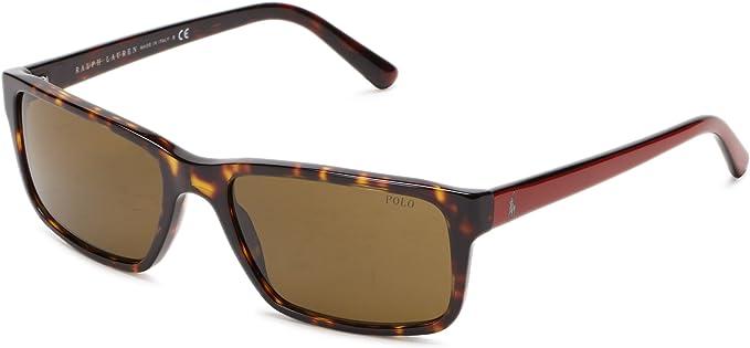 Polo Ralph Lauren 0Ph4076 537473 57 Gafas de sol, Marrón (Tortoise ...