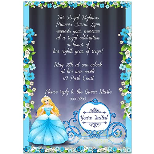 Amazon fairy tales cinderella birthday party invitations handmade fairy tales cinderella birthday party invitations filmwisefo