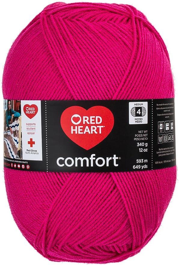 Latte Fleck Big 12oz skein Light Brown /& Black Flecks Red Heart Comfort