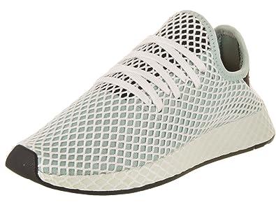 3f604ffa89ded adidas Women Deerupt Runner W Green ash Green core Black Size 5.0 US