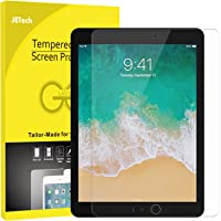 JETech Pellicola Protettiva iPad Pro 12.9 Pollici (Modello 2015 e 2017), Vetro Temperato