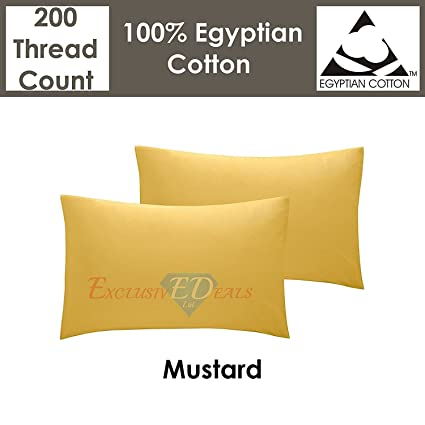 200 Tc Thread Count 100% Egyptian Cotton Extra Deep Fit/ Fitted/ Flat Bed Sheets Bedding Home, Furniture & Diy