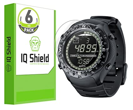 Suunto X-Lander Military Screen Protector, IQ Shield LiQuidSkin Full Coverage Screen Protector for