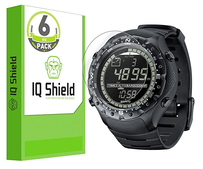 Suunto X-Lander Military Screen Protector, IQ Shield LiQuidSkin Full Coverage Screen Protector for