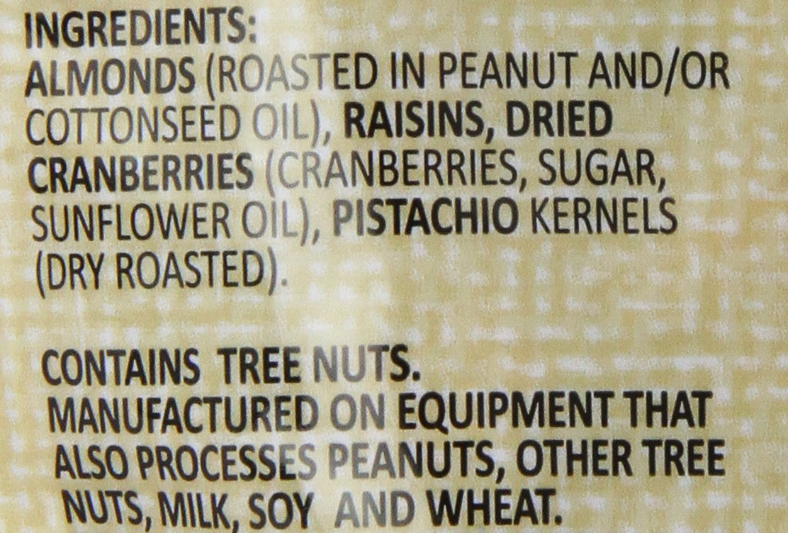 Second Nature California Medley All Natural Trail Mix, 26oz. Roasted Almonds, Pistachios, Raisins, and Dried Cranberries. Sodium-Free. Resealable Bag for Freshness. by Second Nature (Image #1)
