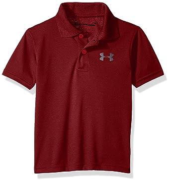 e0af54df2 Amazon.com: Under Armour Boys' Ua Match Play Heather Polo: Clothing