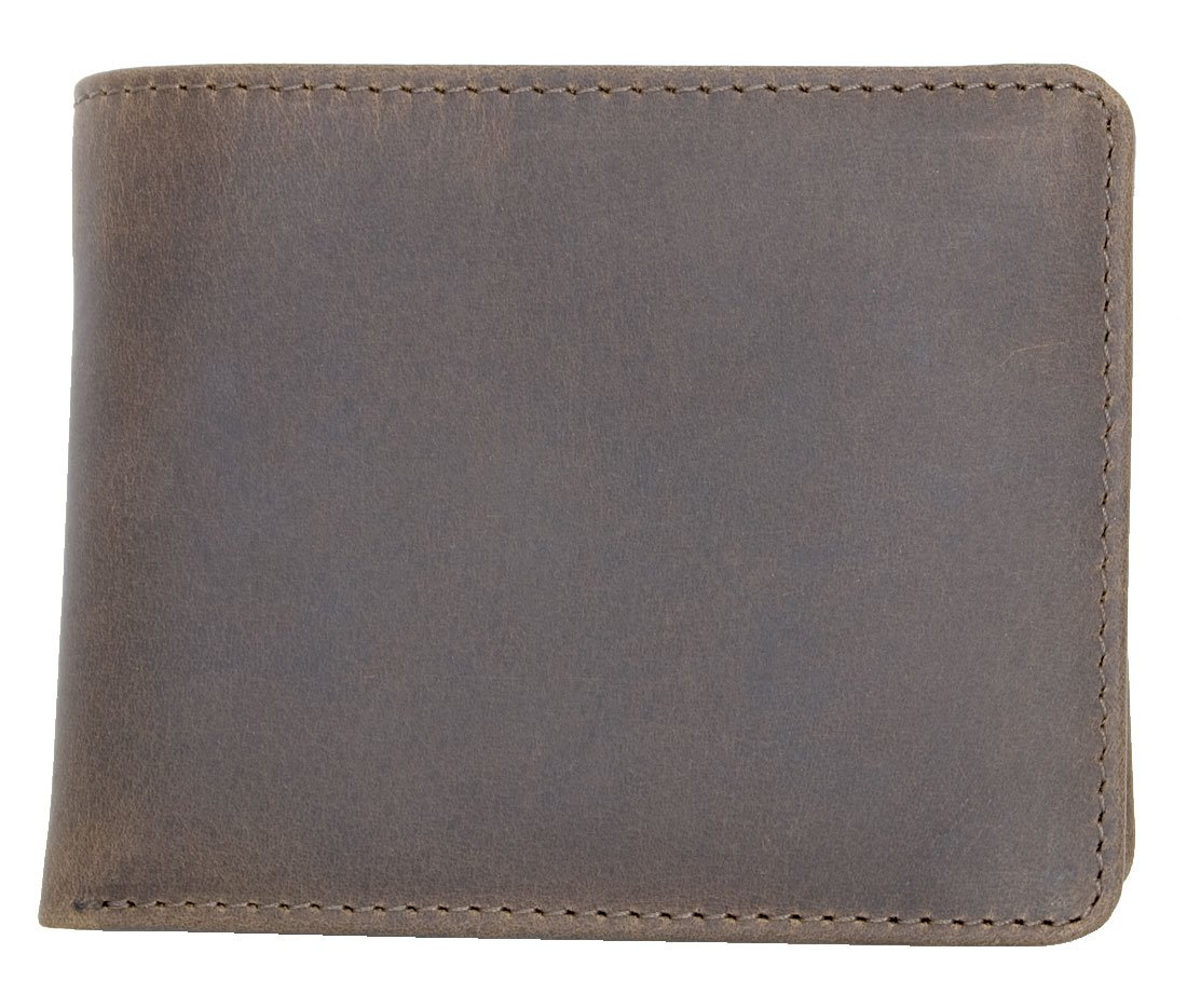 4f8feef57110 Amazon.com: Men's Compact Sized Natural Strong Genuine Leather ...
