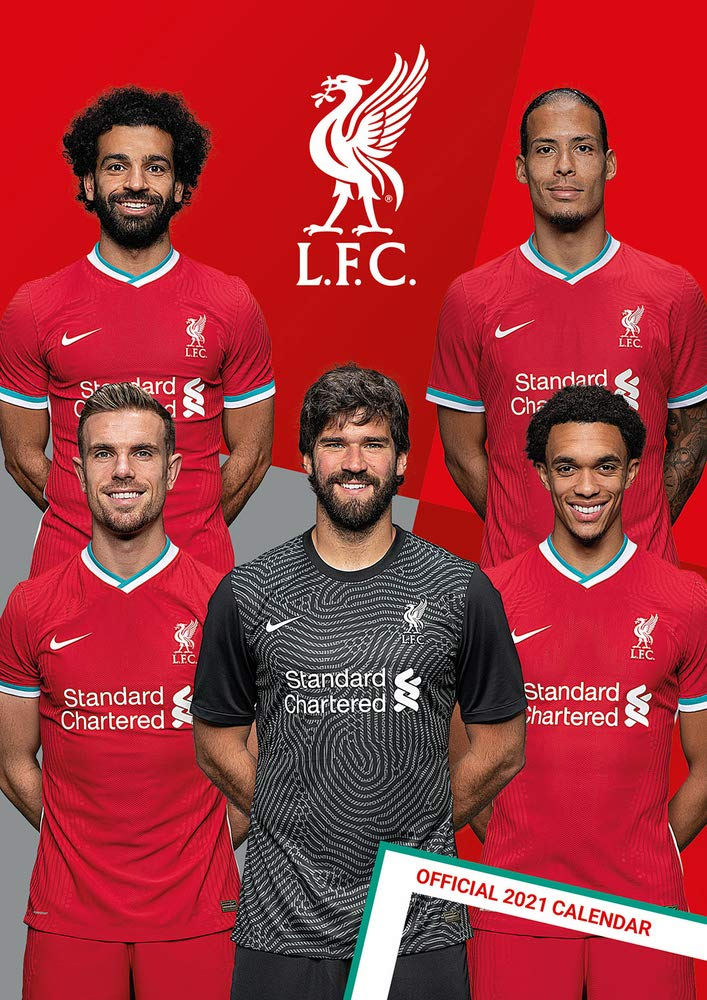 The Official Liverpool F C Calendar 2021 Liverpool Fc 9781838545260 Amazon Com Books