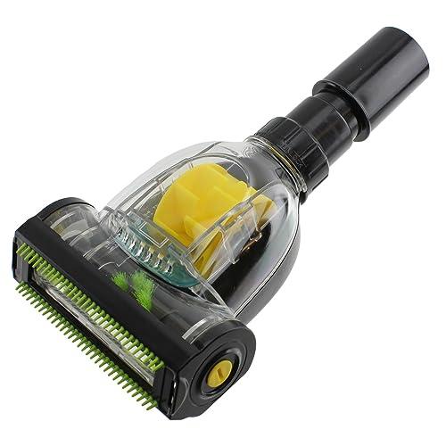 SPARES2GO Pet Hair & Dirt Removal Mini Turbo Floor Brush Tool for Shark Vacuum Cleaner (32mm/35mm)