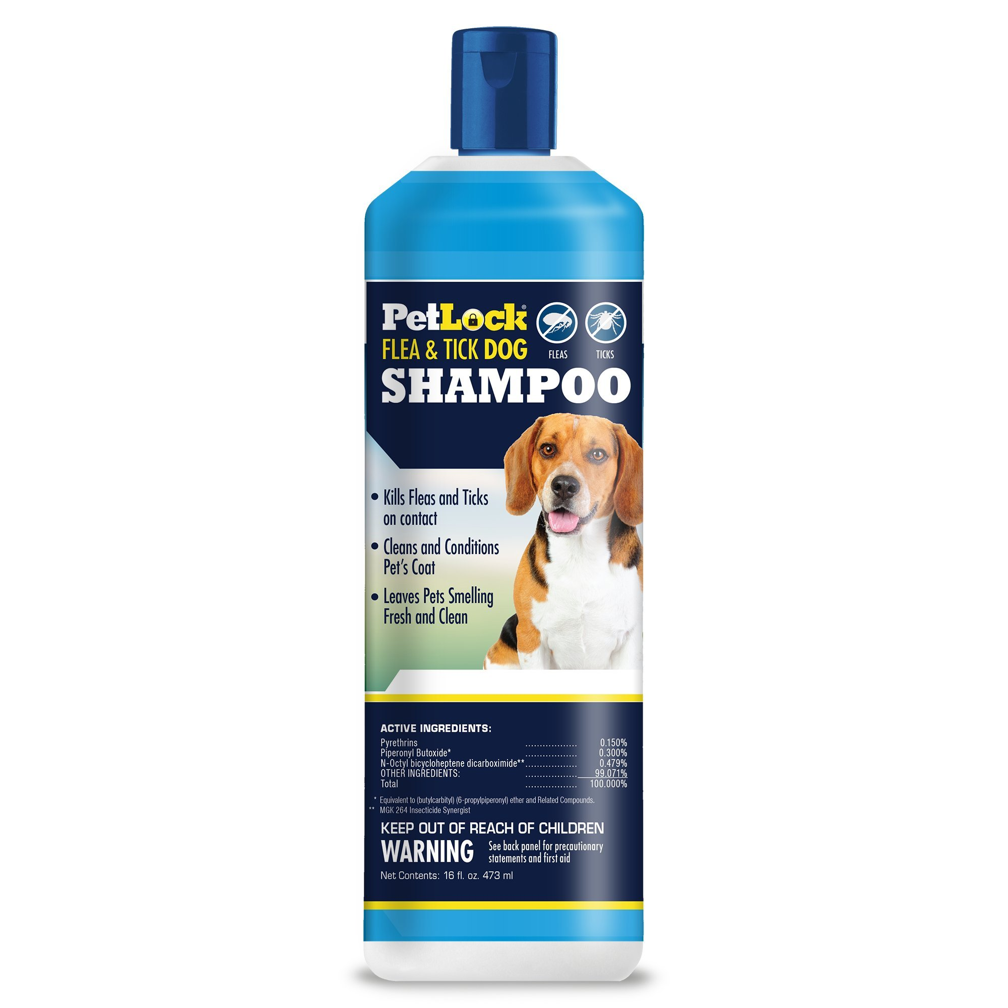 Flea&Tick Dog Shamp16oz by Petlock