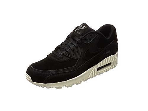 best website 1d034 7ec64 Nike Women s WMNS Air Max 90 LX, Black Black-Dark Grey-Sail