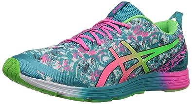 ASICS Women's Gel-Hyper Tri 2 Running Shoe, Tile Blue/Hot Pink/