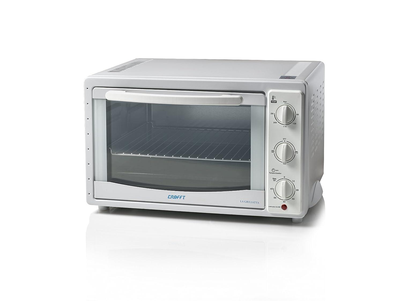 Crafft 1349-CMH30LGX Mini horno de 30 litros, 1600 W: Amazon.es: Hogar