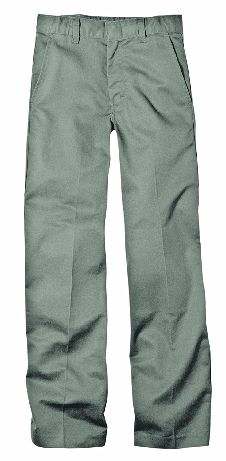 Dickies Boy's Flexwaist Flat Front School Uniform Pant in Husky Sizes KP321