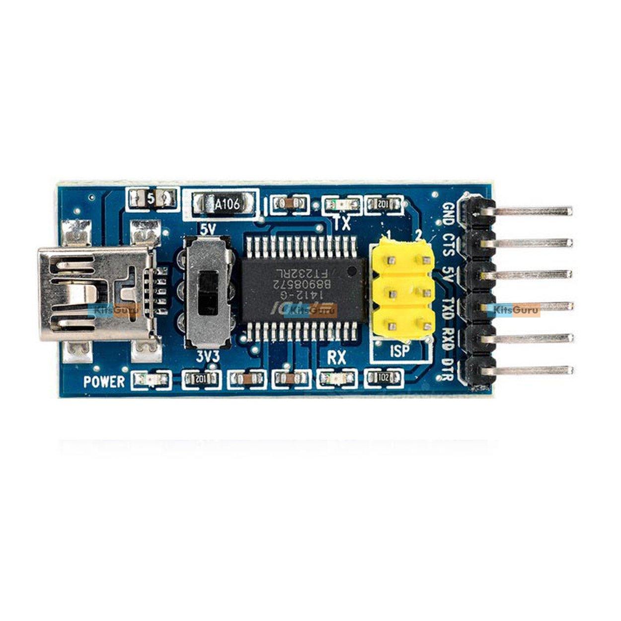 Click To Buy Ltlt Ft232rl Ft232 Ftdi Usb 33v 55v Ttl Serial Sketches Arduino Uno Chip Using Pl2303 Rs232 Converter