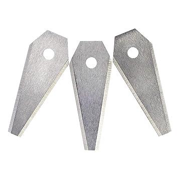 Bosch F016800321 Cuchillas para cortacésped (robot cortacésped ...
