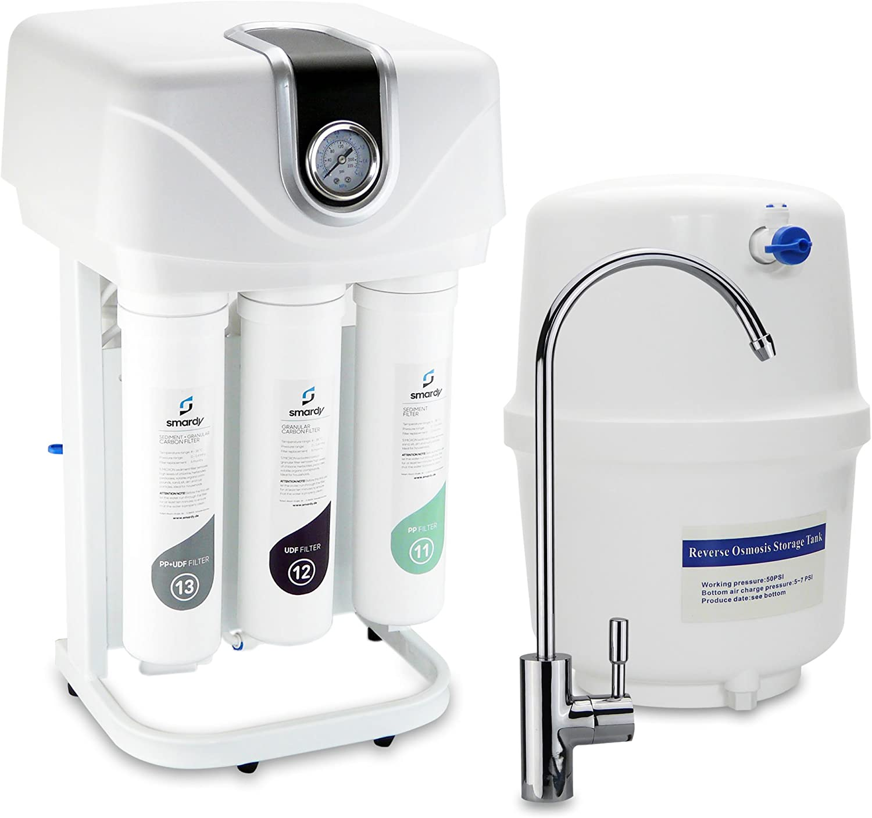 Amazon.de: smardy PRO 190 Quick Change Umkehrosmose Wasserfilter 5 Stufig – Schnellwechselfilter -