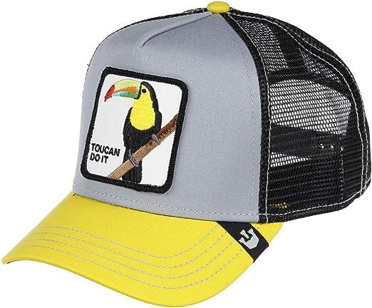 Goorin Bros Trucker Cap Iggy Narnar/Tukan Grey - One-Size: Amazon ...