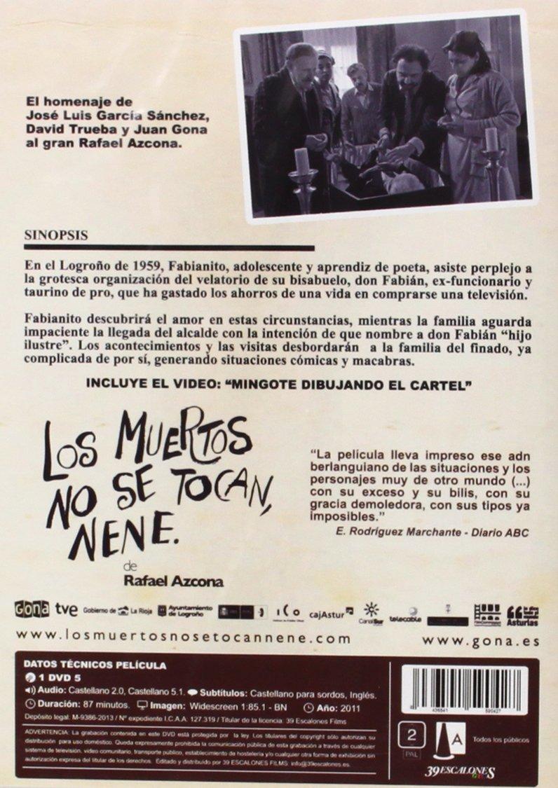 Amazon.com: Los Muertos No se Tocan, Nene: Álex Angulo ...
