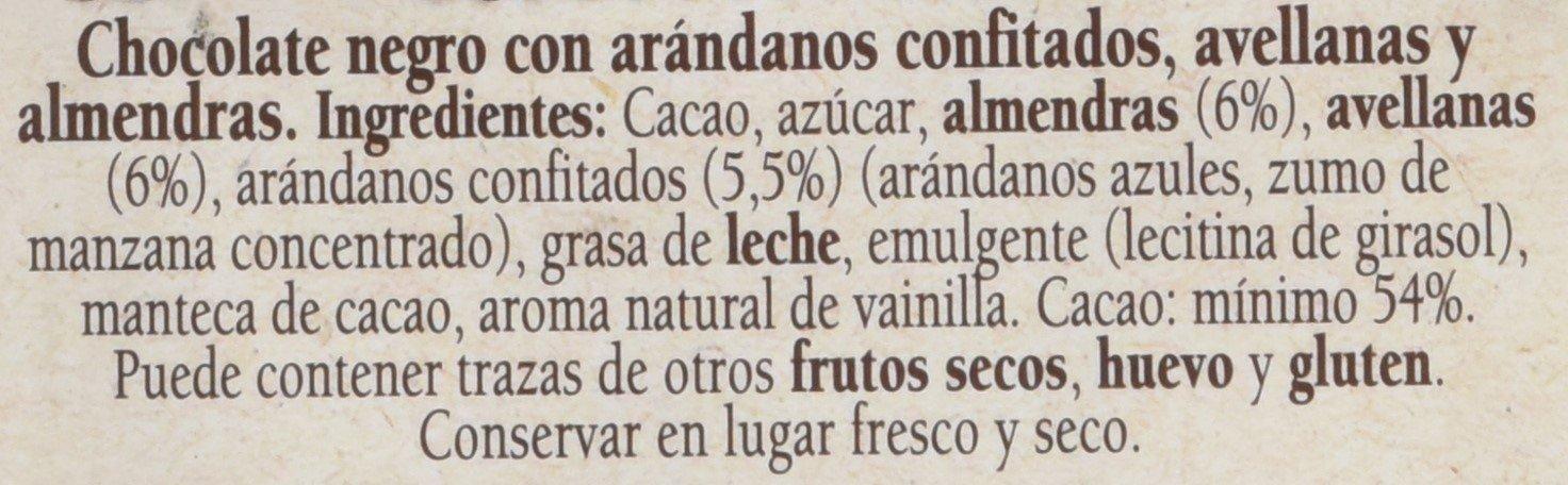 Nestlé Las Recetas de la Chocolatería - Chocolate Negro con Arándanos, Almendras y Avellanas - Paquete de 15 x 195 gr - Total: 2.92 kg: Amazon.es: ...