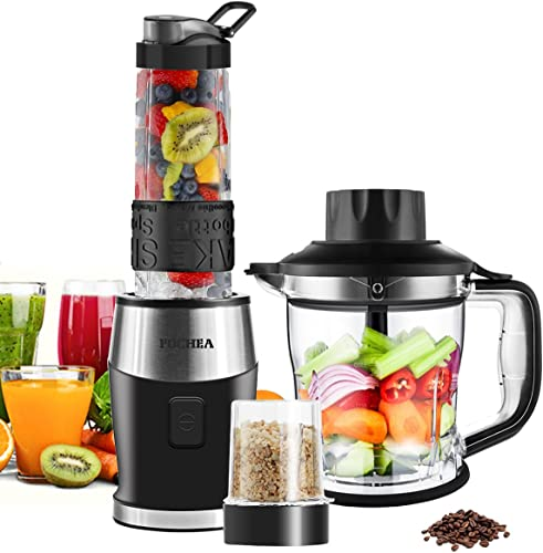 Smoothie-Shake-Blender,-Fochea-3-In-1-Food-Processor-Multi-Function-Kitchen-Mixer-System