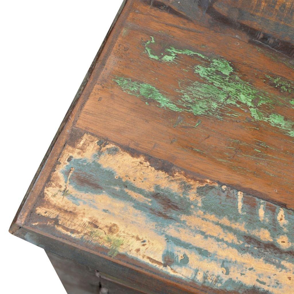 tidyard Armario de Madera con Bonito de Estilo Antiguo,con 1 ...