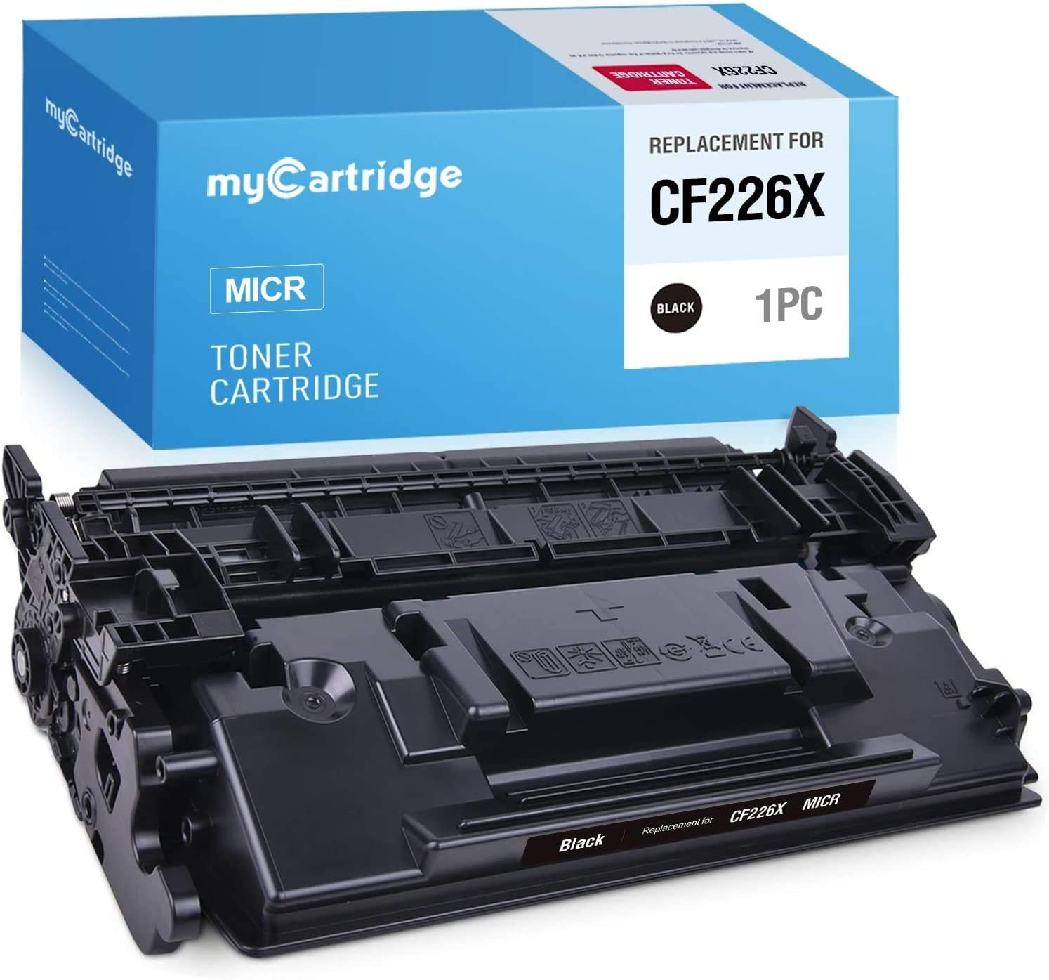 MYCARTRIDGE Compatible Toner Cartridge Replacement for HP CF226X 26X CF226A 26A High Yield Work with Laserjet Pro MFP M426fdw M402n M426fdn M402dn M402dw M426dw M402d (1 Black)
