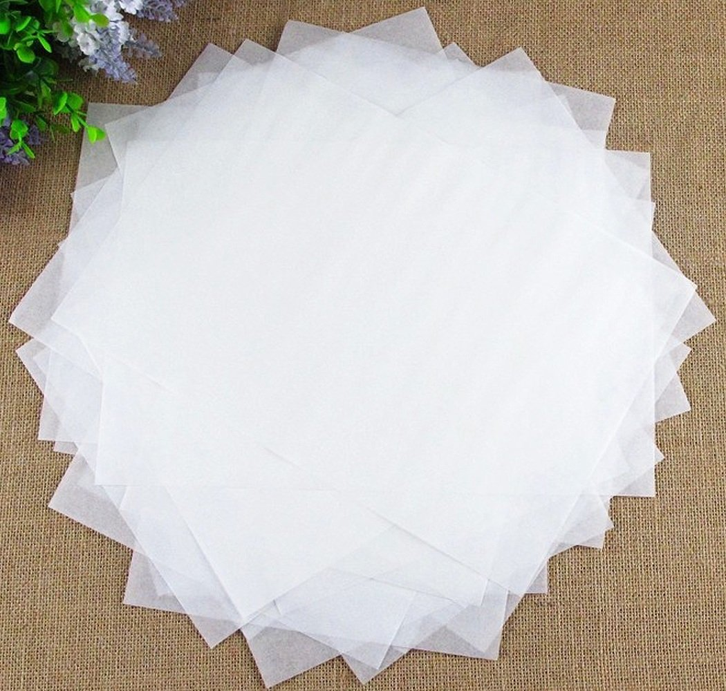 igodee papel blanco aceite para cesta de la freidora para alimentos Pack de 500 pcs inf0029: Amazon.es: Hogar