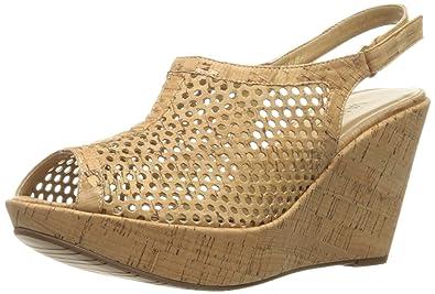 Womens Sandals Vaneli Earlena Natural Ecco Cork