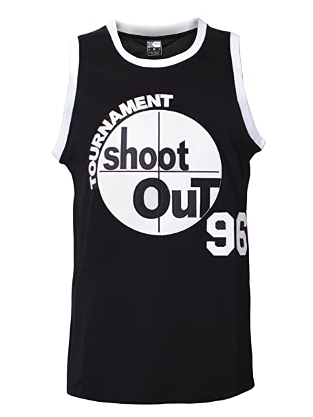 MOLPE Men s 96 Tournament Shootout Jersey Basketball Jersey S-XXXL Black ... 71e848244