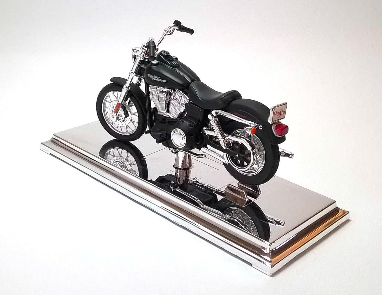 2006 Harley Davidson Dyna Street Bob Nero Maisto 34360-34 1:18 Die Cast