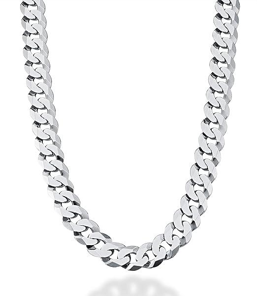 Amazon.com: MiaBella - Collar de cadena de eslabones cubanos ...
