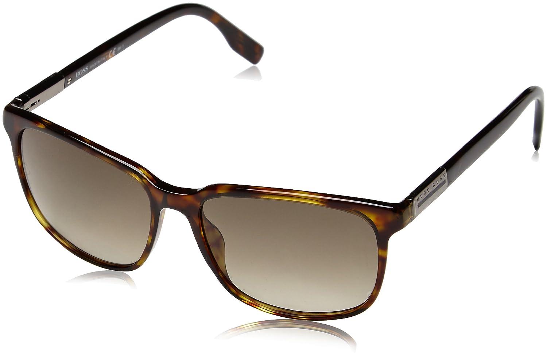BOSS Orange Herren Wayfarer Sonnenbrille, Gr. One Size, Mehrfarbig