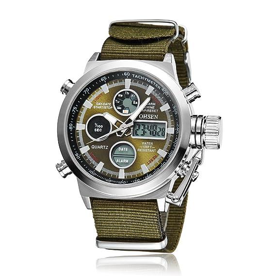 Reloj - OHSEN - Para Hombre - W170G  Amazon.es  Relojes 820dbb5c2daa