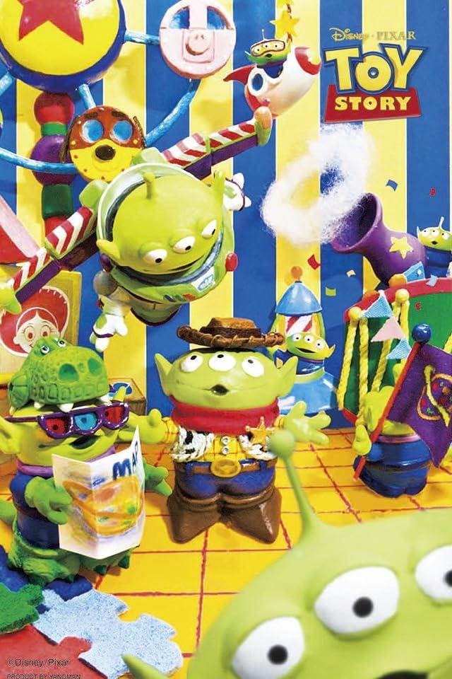 ディズニー トイ・ストーリー エイリアンズ!  iPhone(640×960)壁紙画像