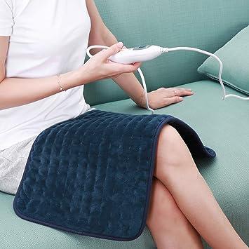 Heizkissen mit abschaltautomatik Wärmekissen Elektrisch 30 * 60cm für Rücken Nacken Schulter Bauch Beine Muskelverspannung 6