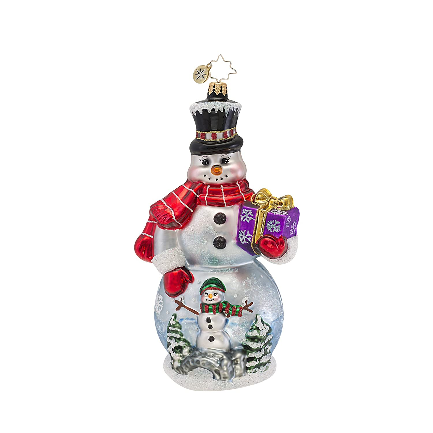 Christopher Radko Winter Wonderland Christmas Ornament