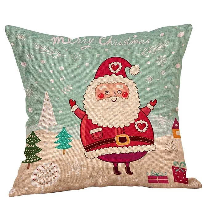 Amazon.com: Fundas de almohada de Navidad para niños, diseño ...