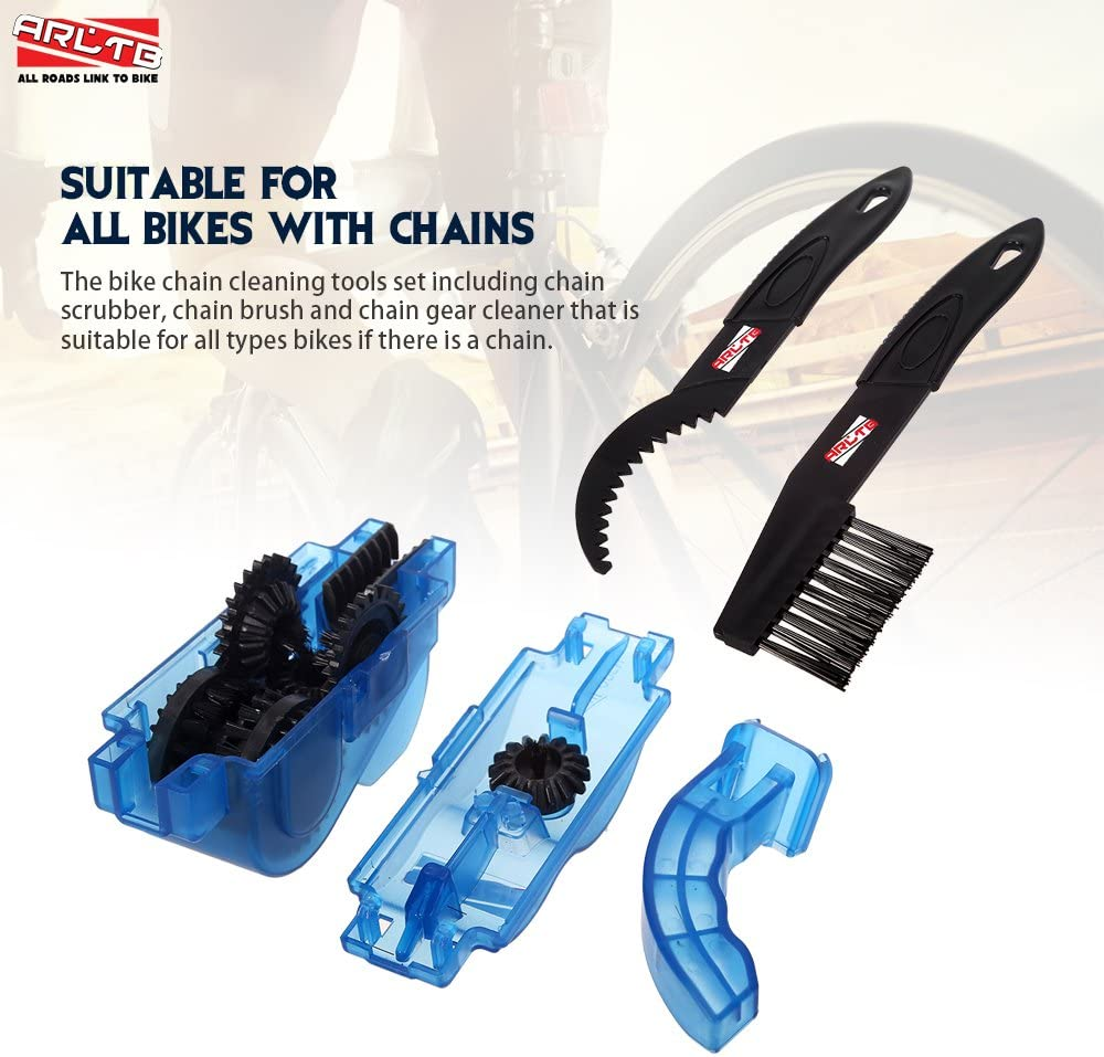 / Professional and Reinigungsg Chains HUKITECH Chain Cleaner Bike Chain Cleaner/