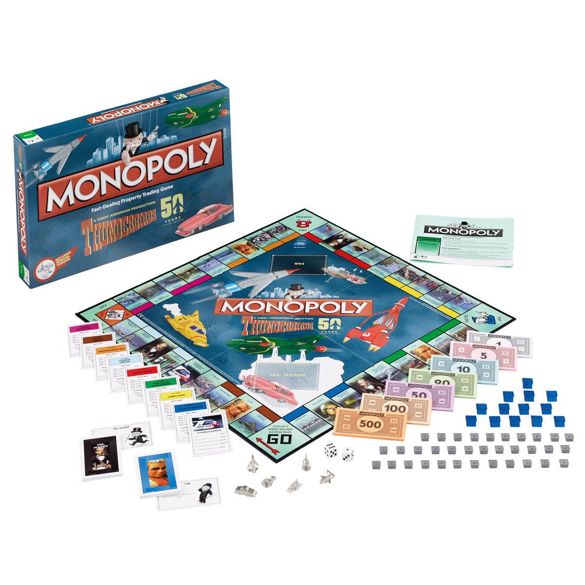 Thunderbirds Monopoly Board Game: Amazon.es: Libros en idiomas extranjeros
