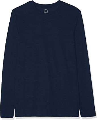 MERAKI T Shirt Manches Longues Homme Lot de 2